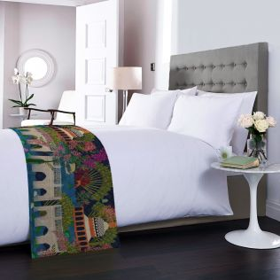 Banks of Silvassa Bed and Table Runner