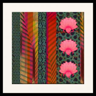 Floral Fantasia Framed Wall Art