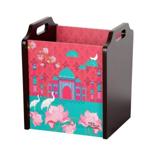 India Circus Taj Transition Desk & Magazine Organizer