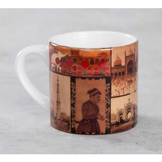 India Circus The Mughal Era Expresso Mug