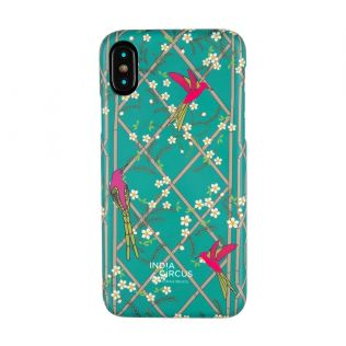 India Circus The Rose finchs Window View iPhone X Cover
