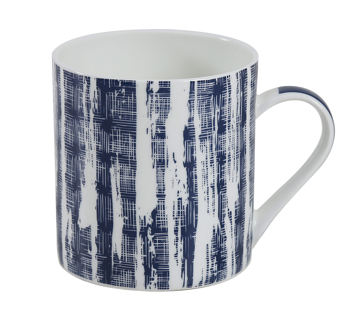 Blue Canvas Coffee Mug Set of 6