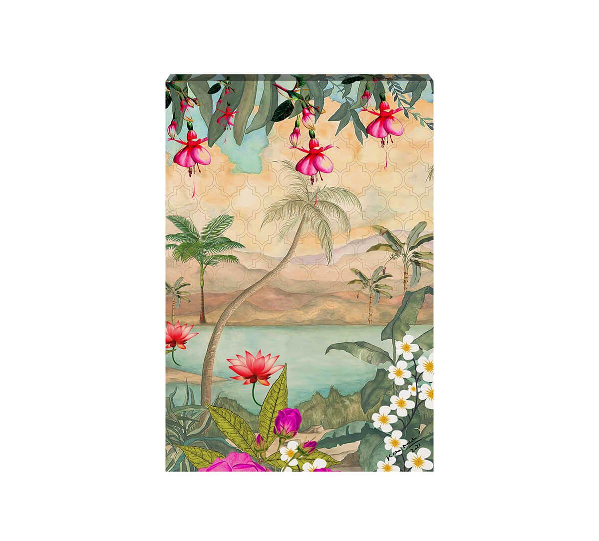Oriental Jibe Canvas Wall Art