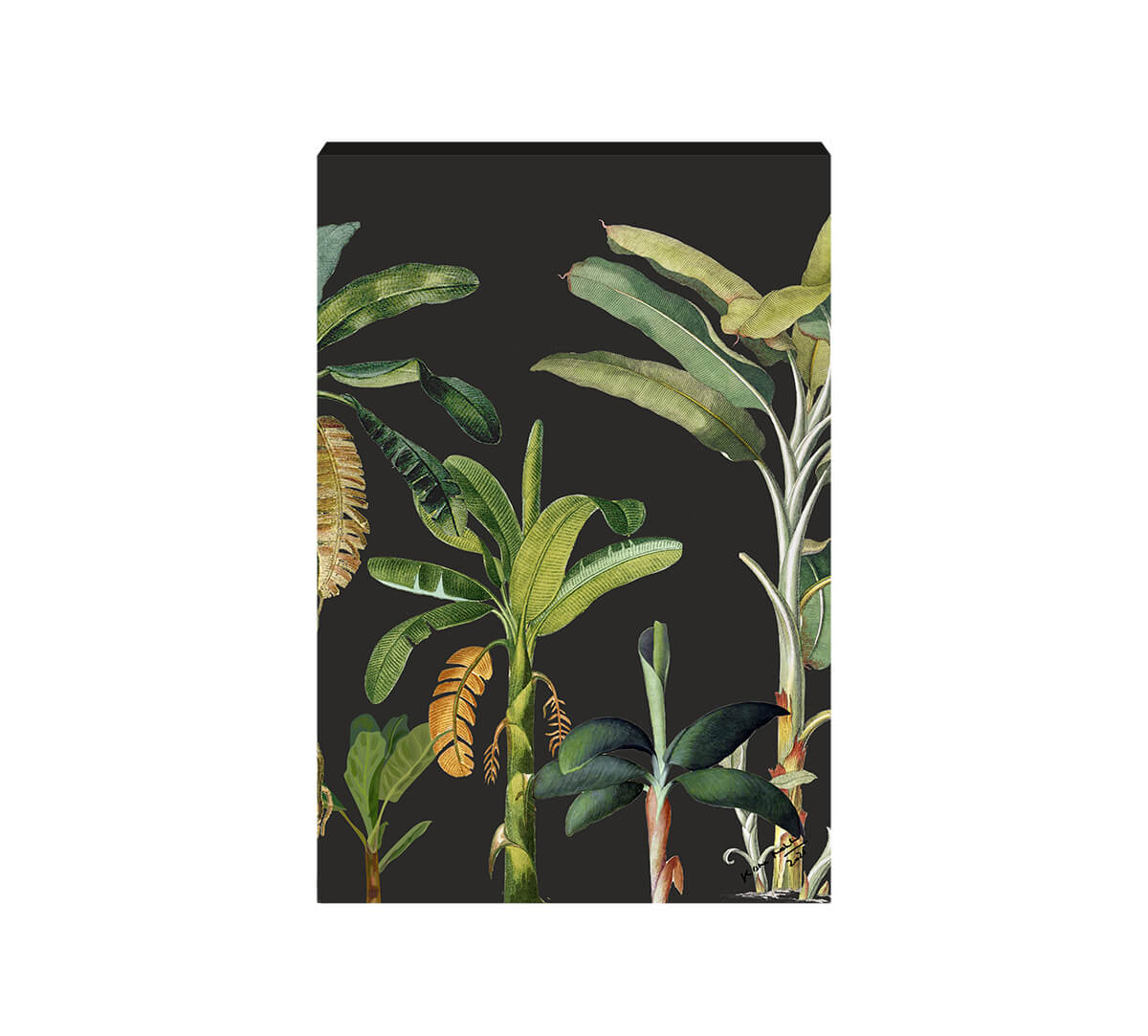 The Midnight Aesthetic Yield Canvas Wall Art