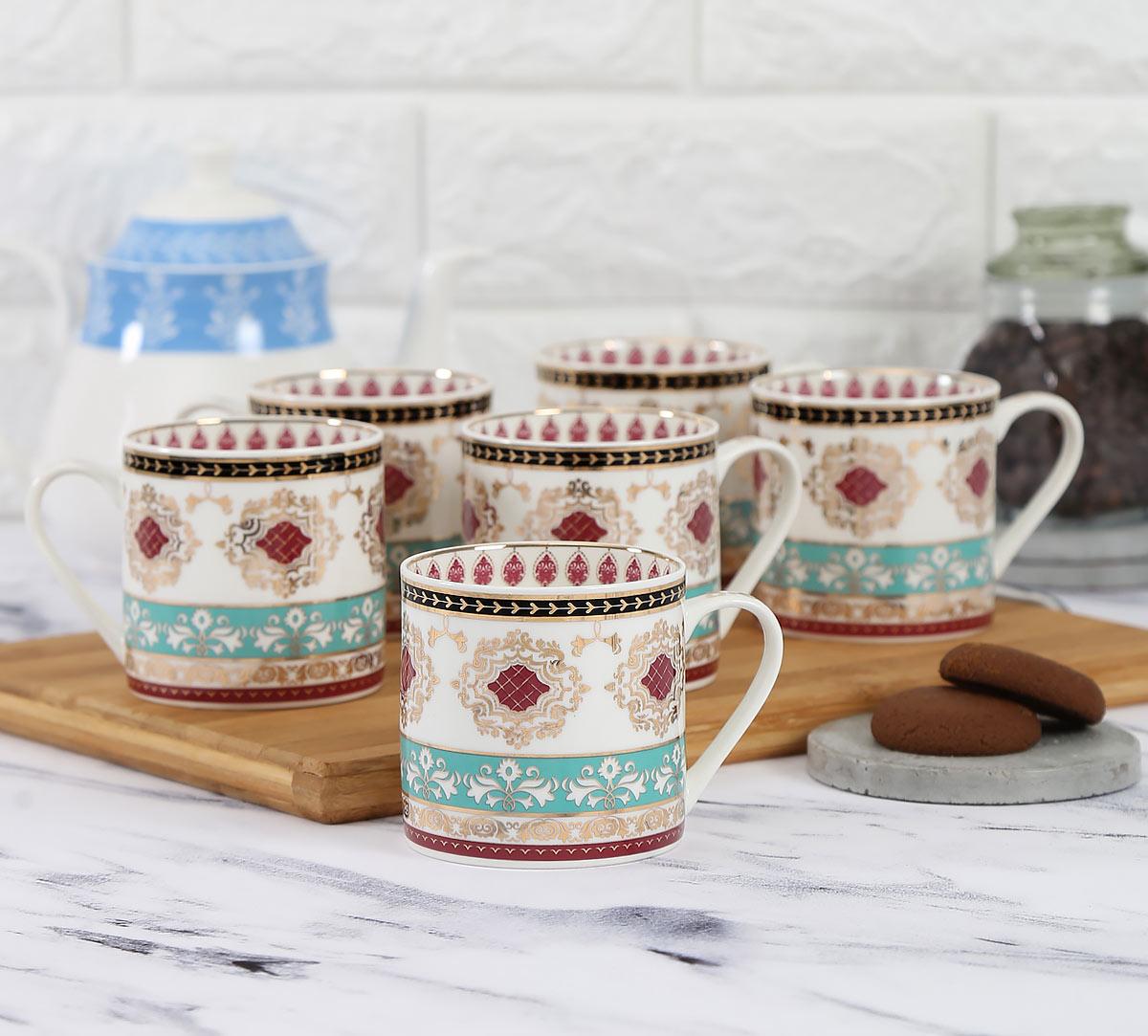 Enchanted Waves Coffee Mug Set of 6