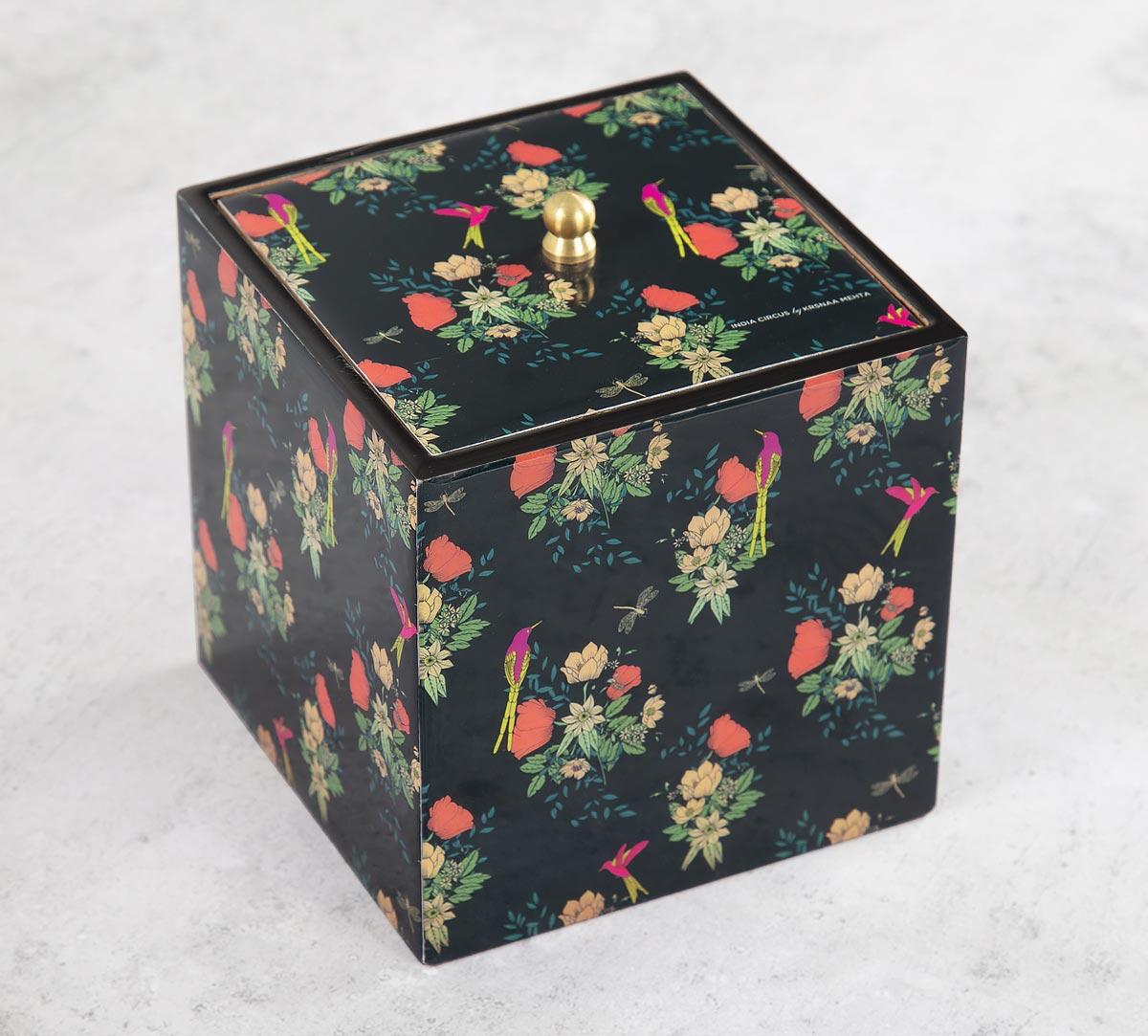 Floral Fascination Square Storage Box