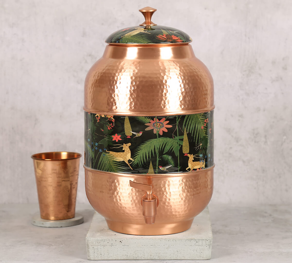 Forest Fetish Copper Water Dispenser