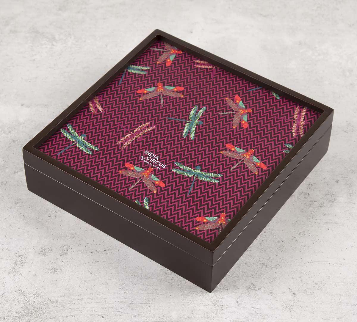 Jam Chevron Butterflies Small Storage Box