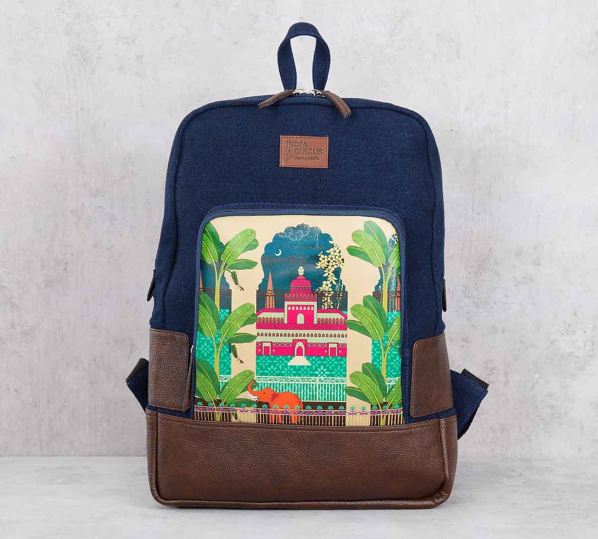 Lakeside Palace Denim Backpack