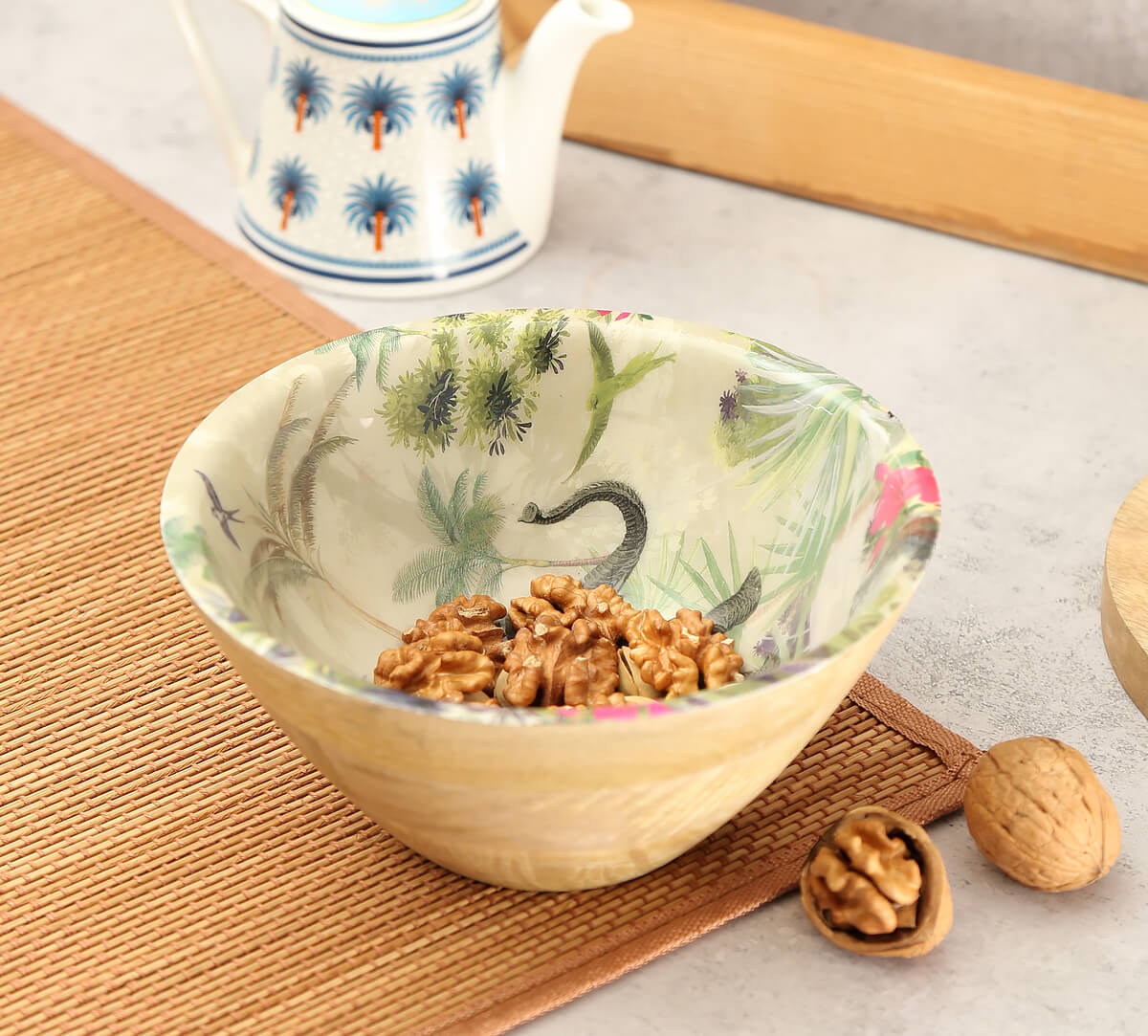 Manoeuvres in the Nature Wooden Bowl
