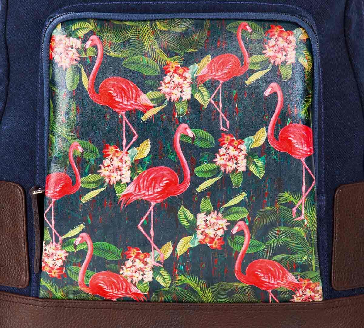 Moksha Hansa Denim Backpack