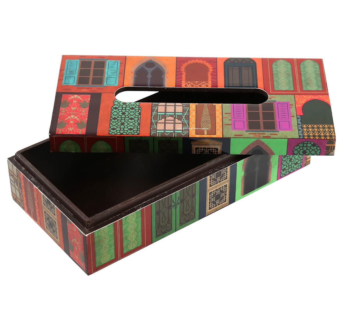 Mughal Doors Reiteration Tissue Box Holder