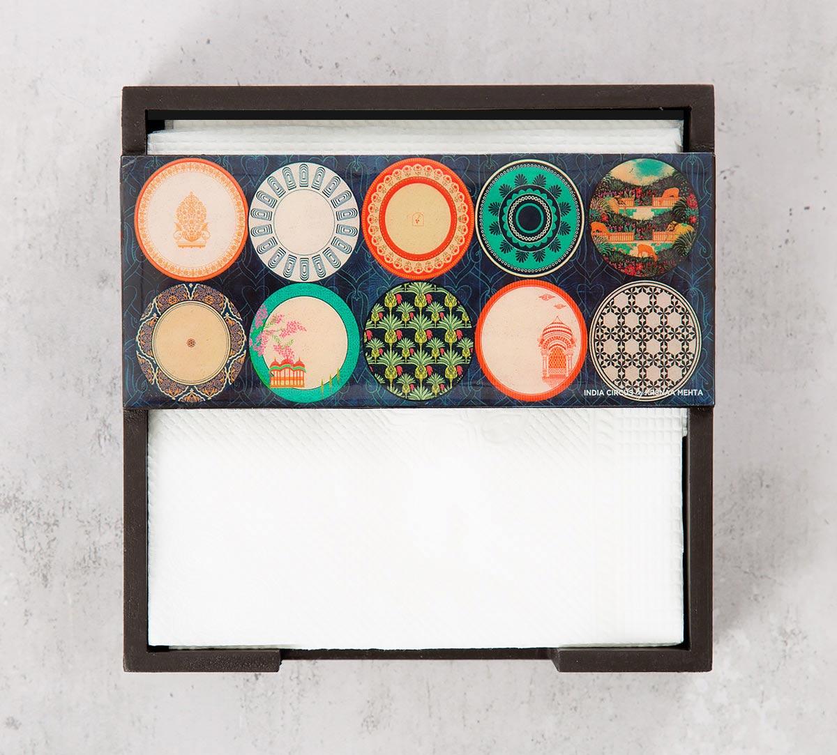 Platter Portrayal Tissue Holder