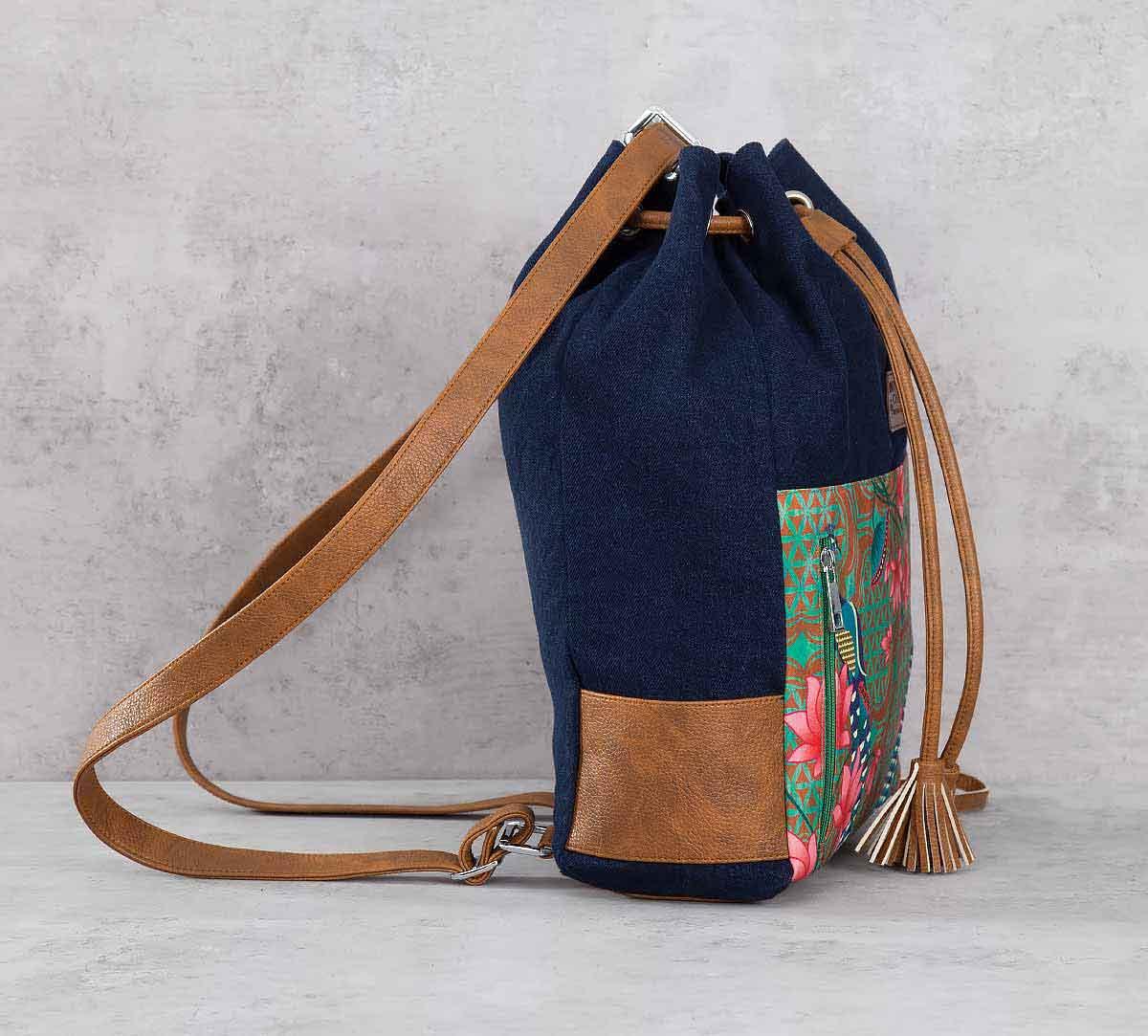 Realm of Pride Denim Hobo Bag