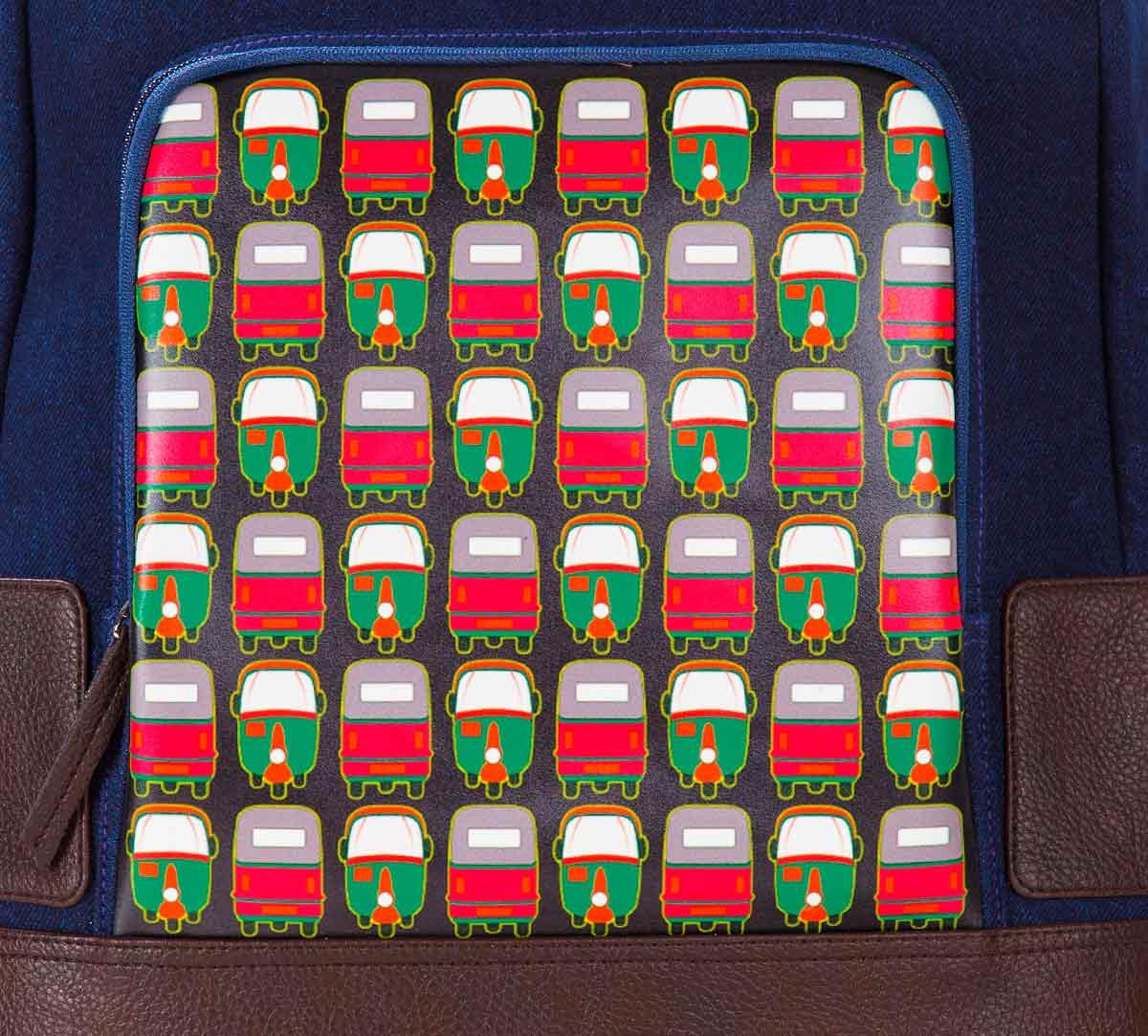 Rickshaw Masti Denim Backpack