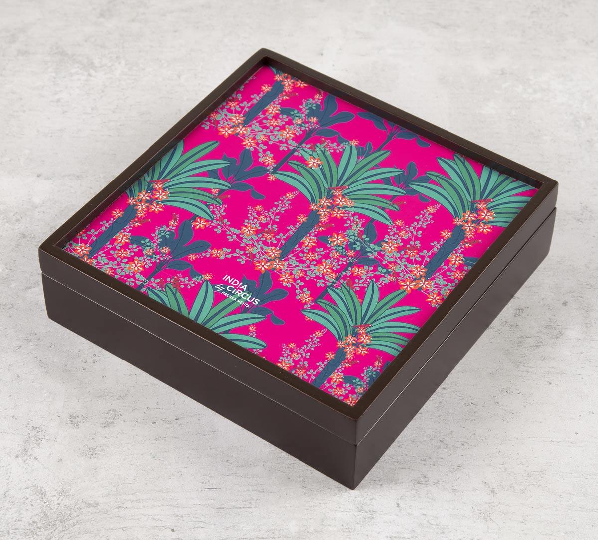 Royal Palms Small Storage Box