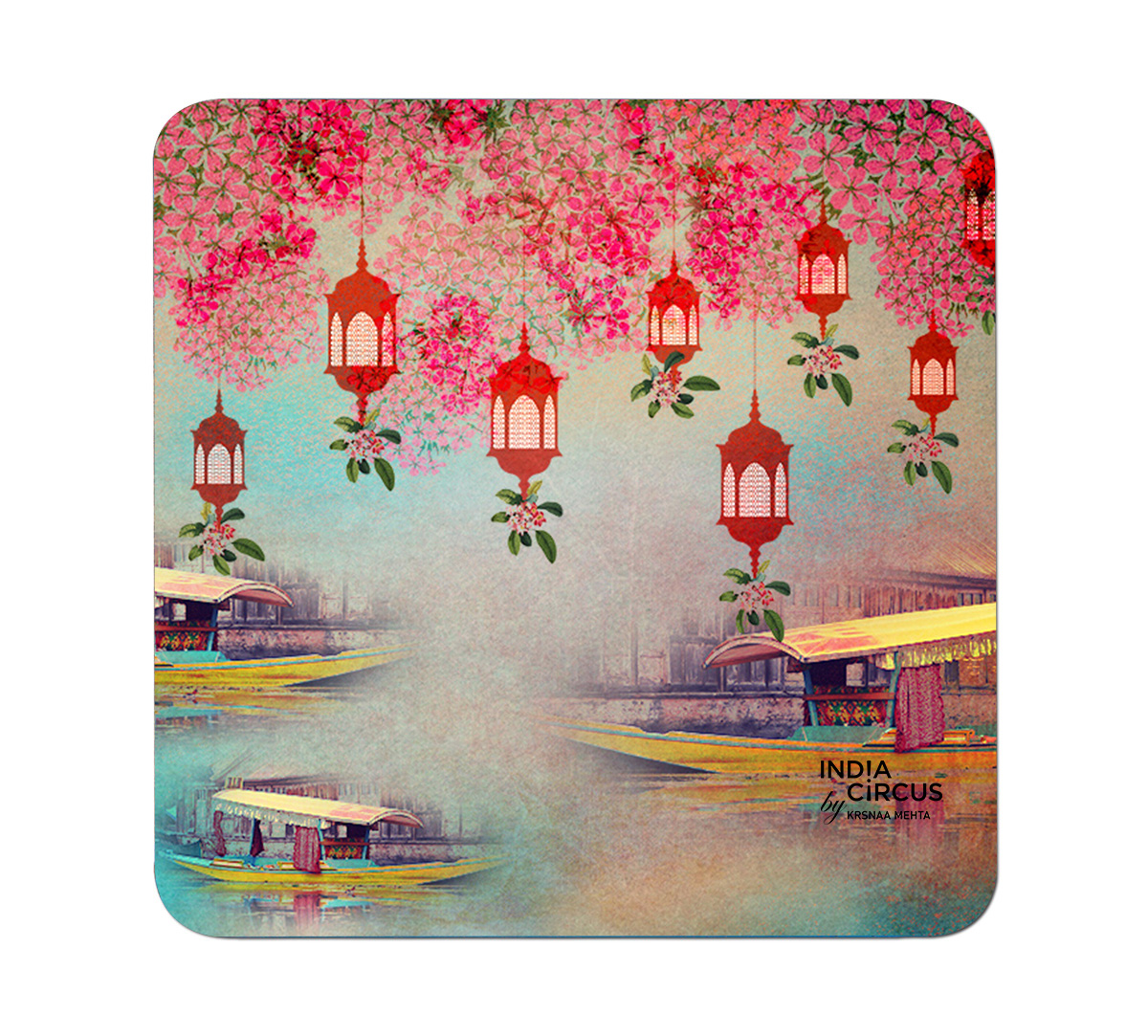 Scarlet Shadow PVC Table Coaster (Set of 6)