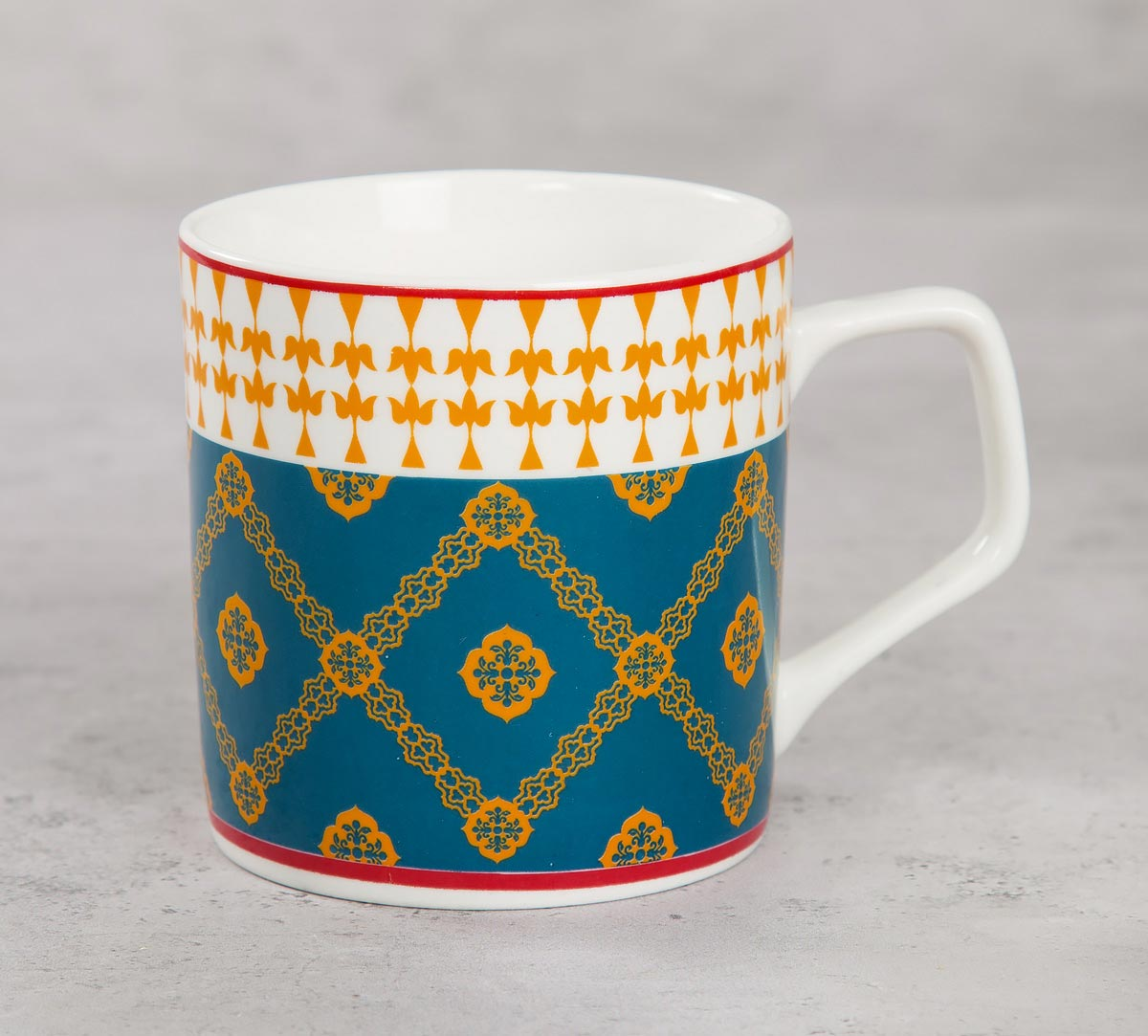 Swirling Safari Mug (Set of 6)