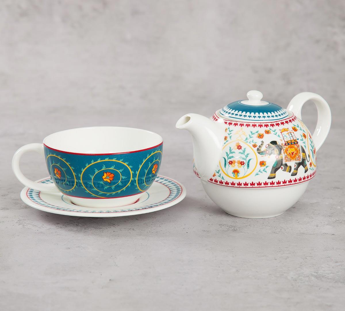 Swirling Safari Tea for One