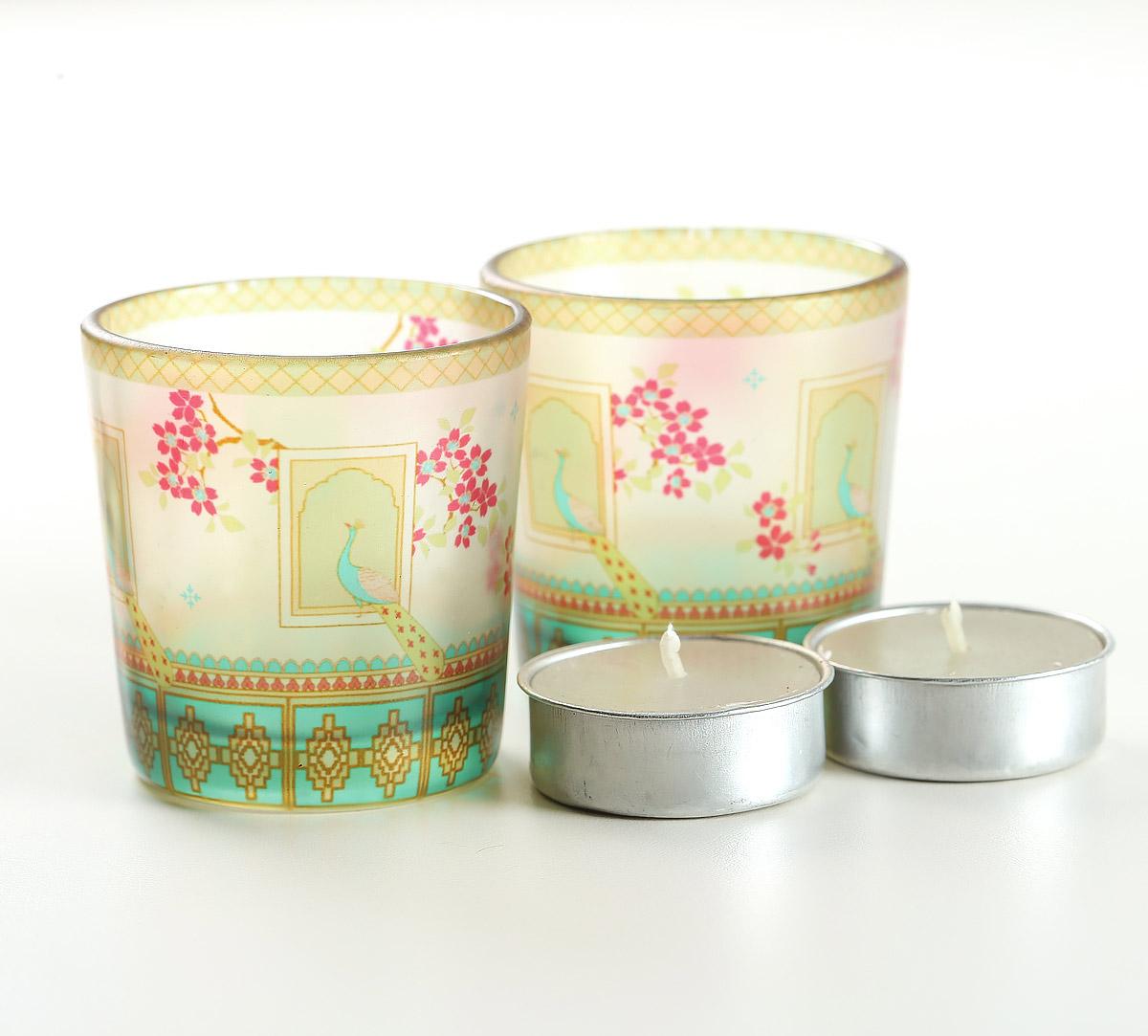 Tropical Island Living Tea Light Holder Set of 2