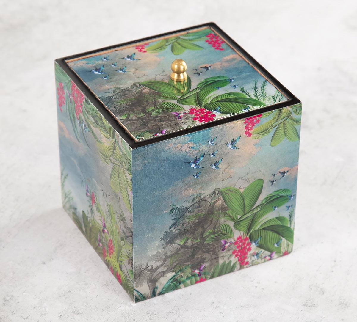 Tropical View Square Storage Box