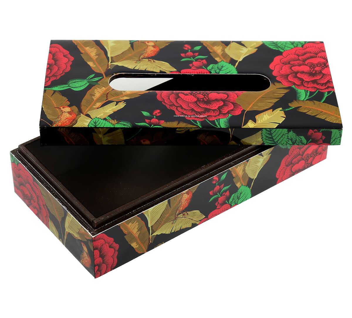 Violet Bayrose Romance Tissue Box Holder