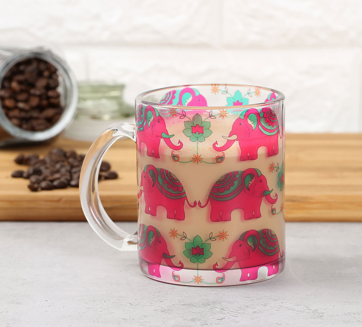 Violet Mastodon's Jamboree Glass Mug