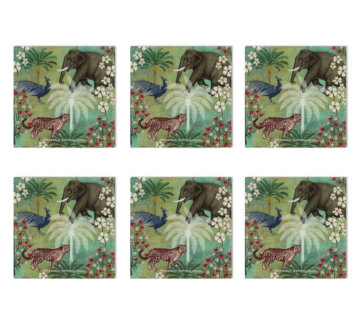 Wildlife Safari MDF Table Coaster Set of 6