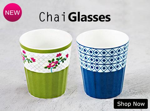 Buy Chai Glasses Online