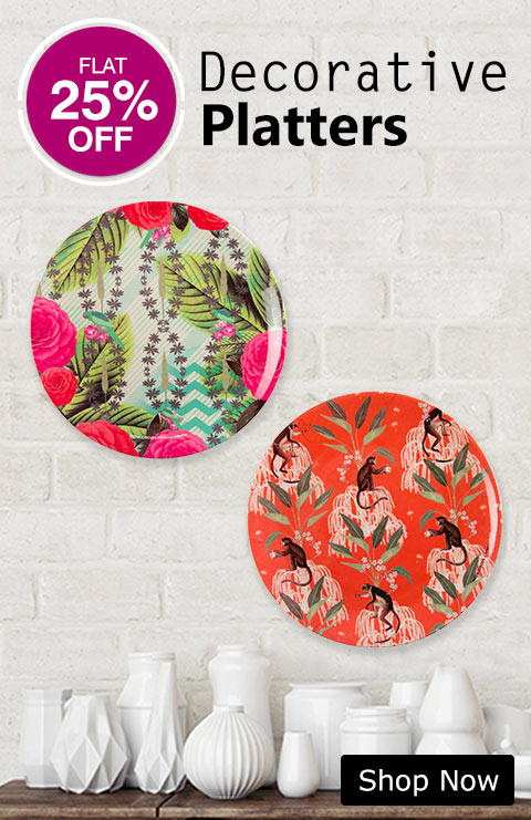 Buy Decorative Platters Wall Plate Online