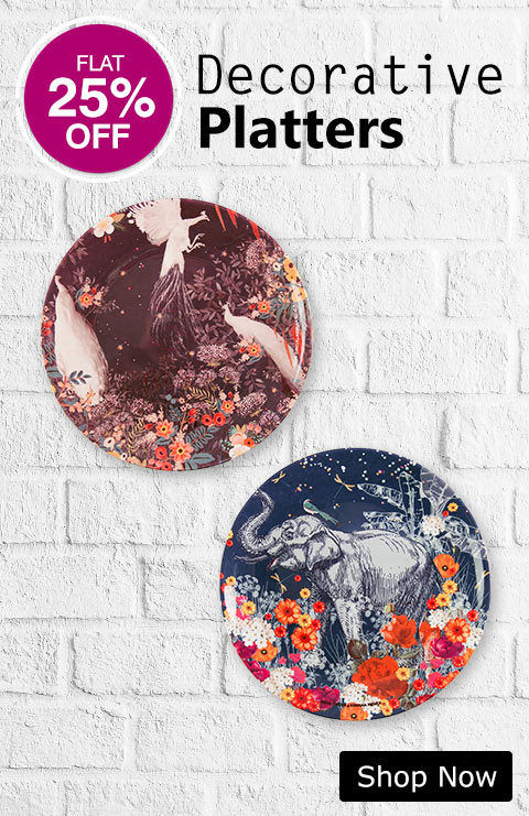 Buy Decorative Platters|Wall Plate Online