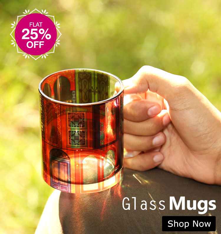 Buy Coffee Mugs I Glass Mugs Online