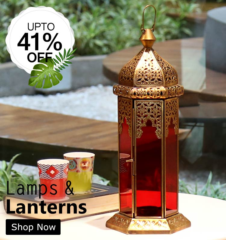Buy Moroccan lanterns and Table Lamps Online