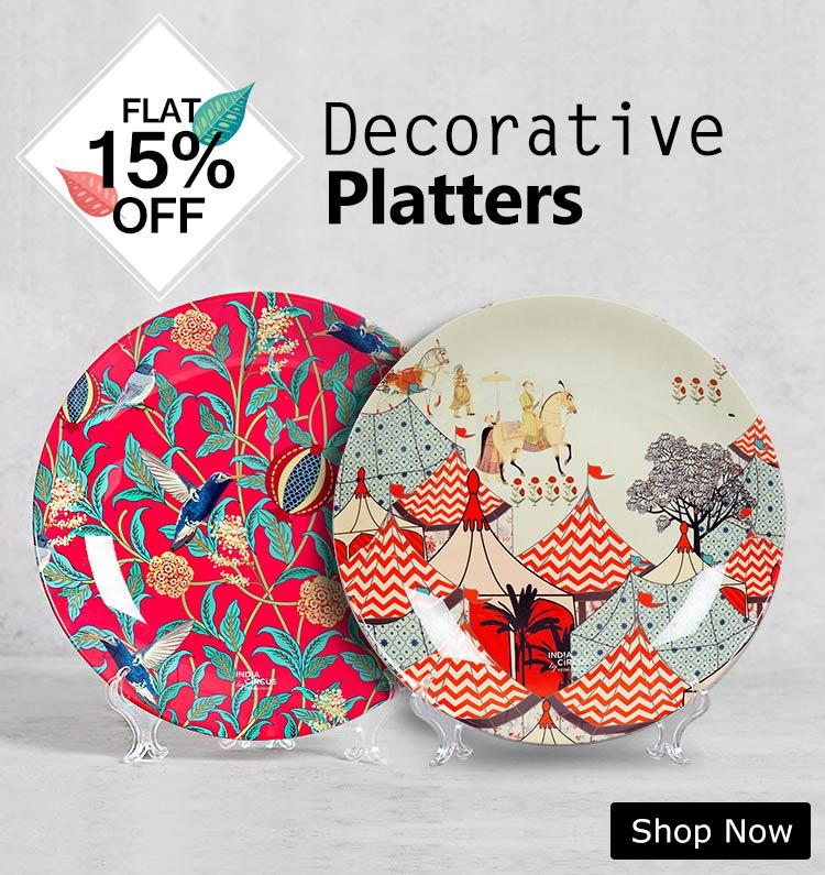 Buy Decorative Platters Online