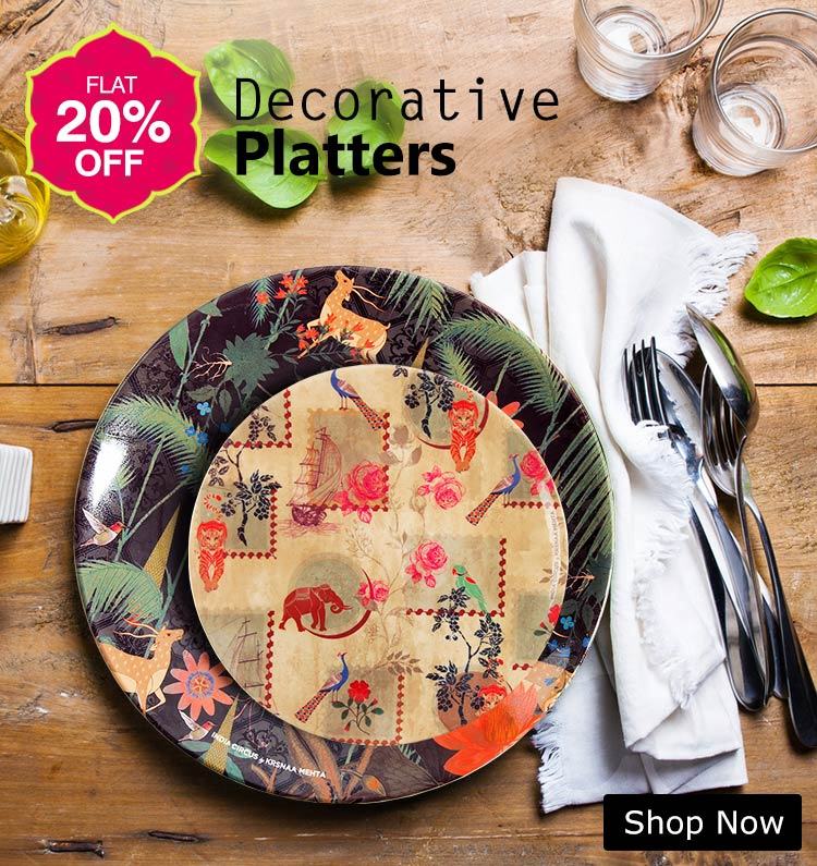 Buy Designer Decorative Platters Online