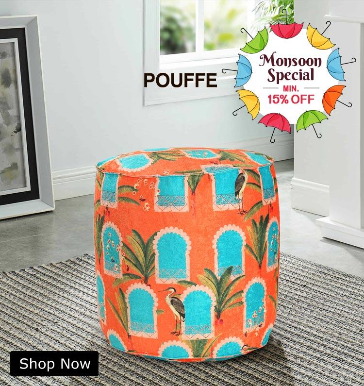 Buy Pouffe Online