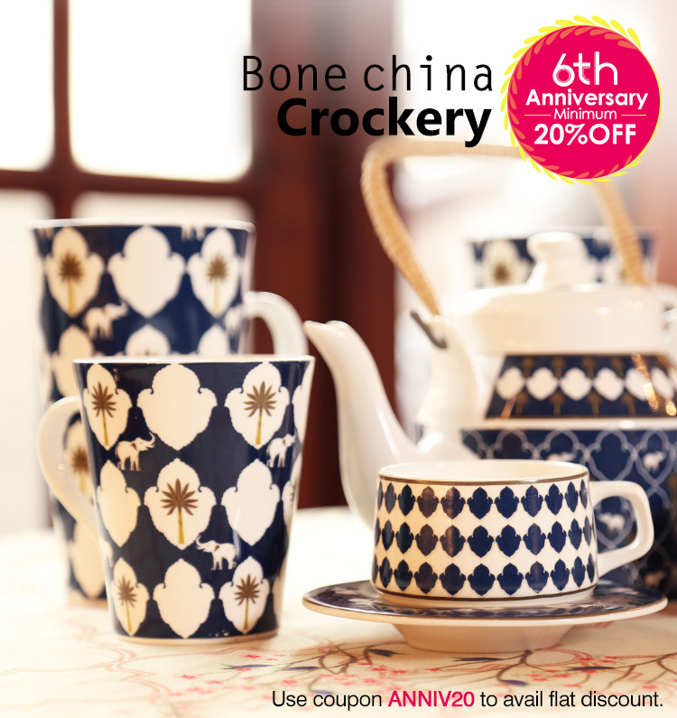 Buy Premium Designer crockery Online