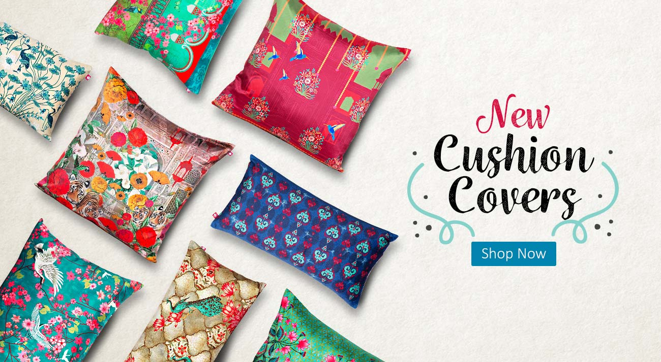 Colourful Cushion Covers Online