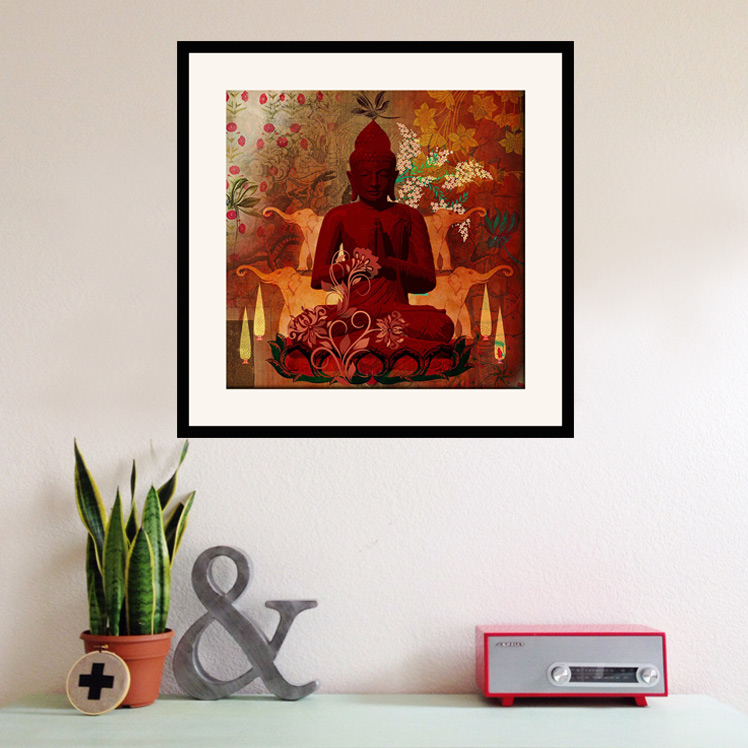Framed Wall Arts  sc 1 st  India Circus & Contemporary Wall Paintings by Krsna Mehta| India Circus®